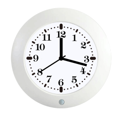 Thetis 1080p HD Nanny Cam Table / Wall Clock Hidden Camera with 4 Months Battery Standby Life