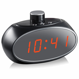 Quick View · Antheia 1080p HD WIFI Nanny Cam Table Clock Hidden Camera with Rotating Lens
